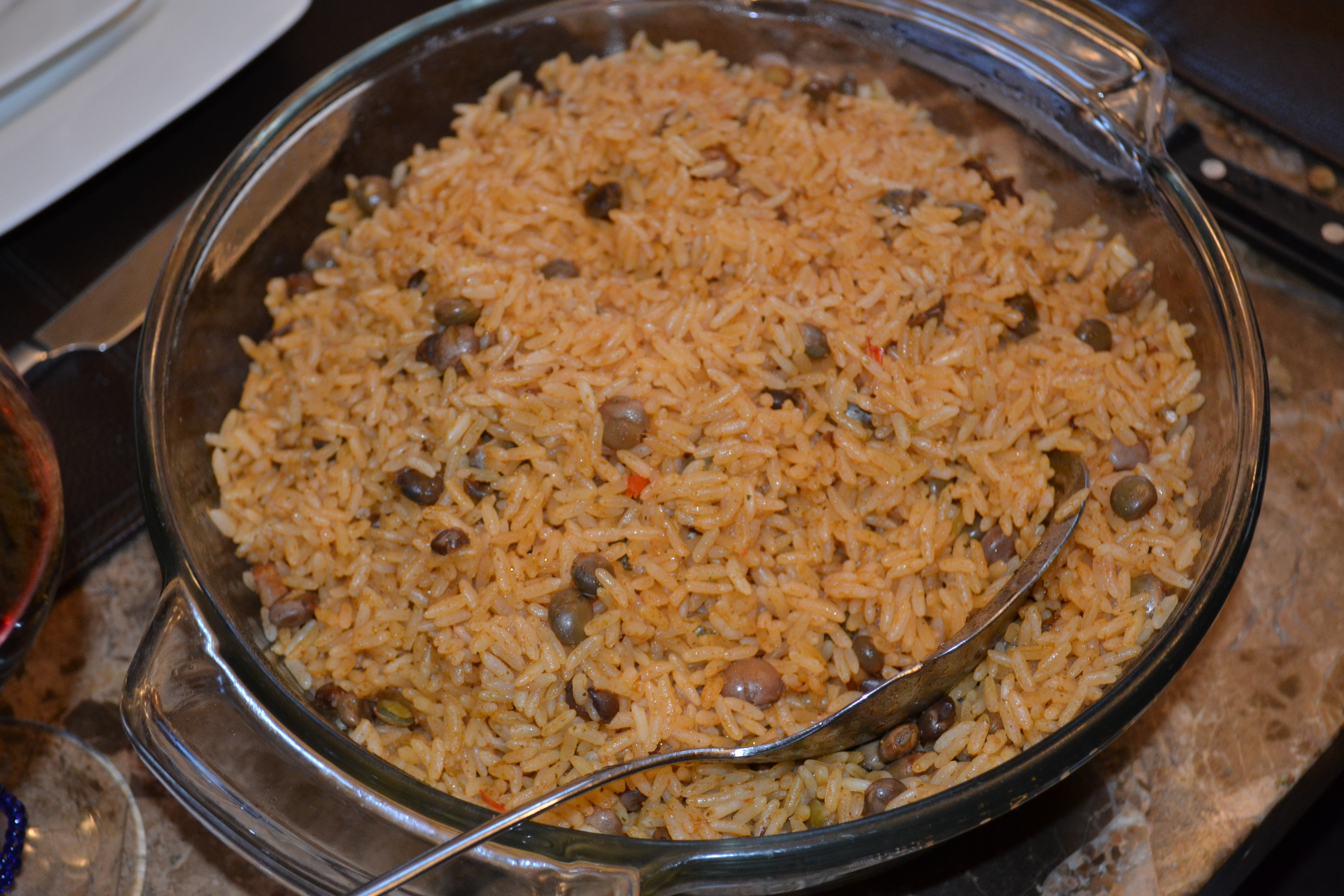 Arroz Con Gandules (Puerto Rican Rice with Pigeon Peas) | Delish D ...